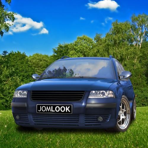 Grila JOM fara semn complet negru  VW Passat B5.5 3BG year 2000 -2005