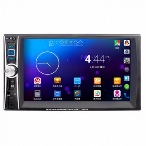 "PLAYER MP3 / MP5 AUTO MODEL: 7653TM 6.5"" cu mirrorlink"