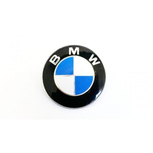 Emblema BMW alb albastru 82 mm