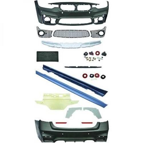 Pachet EVO II M3 Design compatibil cu BMW F30 (2011-up) Fara Proiectoare