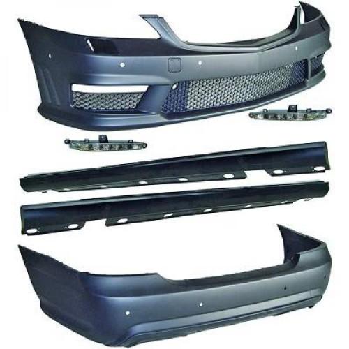 Kit bari  W221, Mercedes S-Kl. W221 05-11 05-11       Plastic