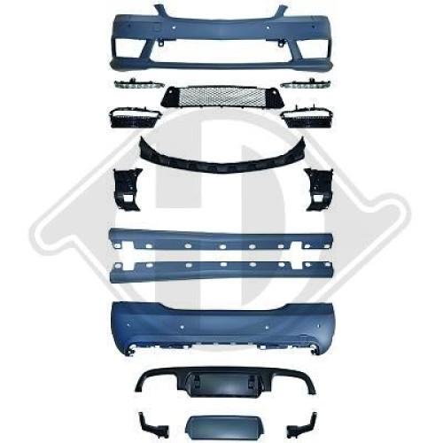 Kit bari  W221, Mercedes S-Kl. W221 05-11 11-13       Plastic