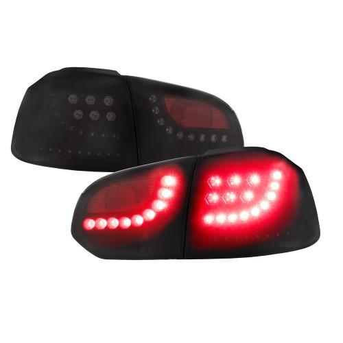 Stopuri LED-uri cu semnalizari dinamice - VW Golf 6 - FUMURIU