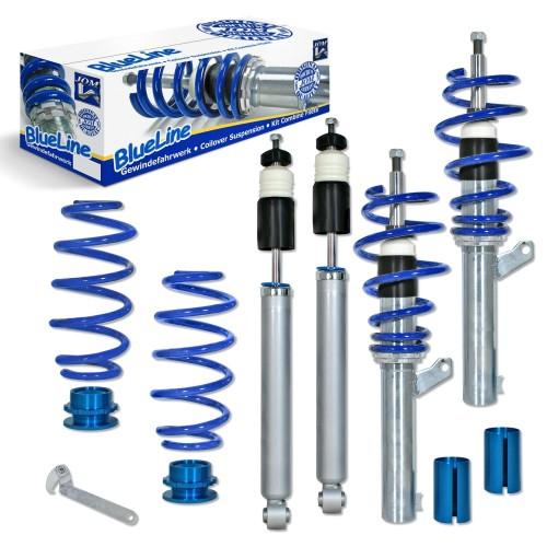 Suspensie sport reglabila JOM BlueLine VW Touran 1T 1.6/ 2.0/ 2.0T/ DSG/ 1.9TDi Ø 50/55 mm!! amortizor cu arc/ arc cu reglaj