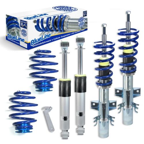 Suspensie sport reglabila JOM BlueLine, VW Multivan / Bus T5 Typ 7H 2.0/ 3.2 V6/ 1.9TDi/ 2.0TDi/ BiTDi/ 2.5TDi/ 4Motion, 03- amortizor cu arc/arc cu reglaj