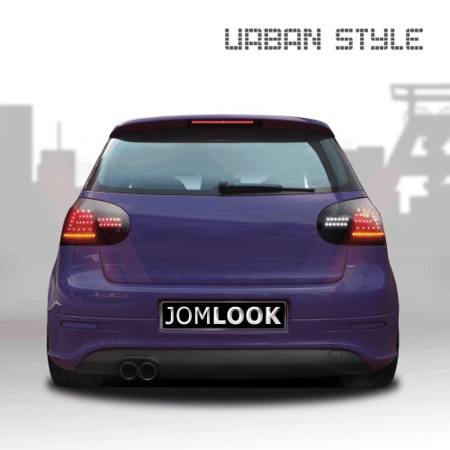 Stopuri Urban Style LED VW Golf 5 Hatchback pe negru