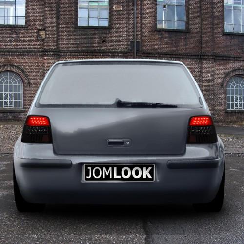Stopuri LED VW Golf 4 an 97-03 negru inchis