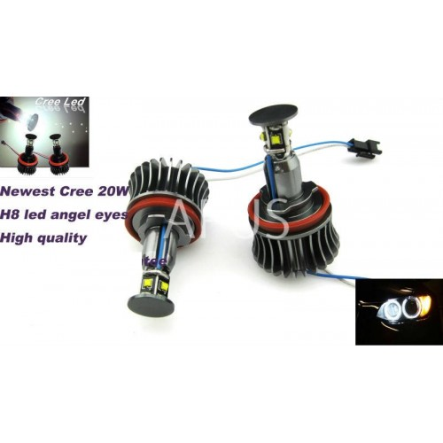 Led marker Angel Eyes model H8 20W