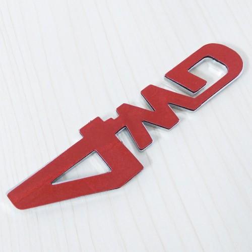 Emblema adeziva 4WD