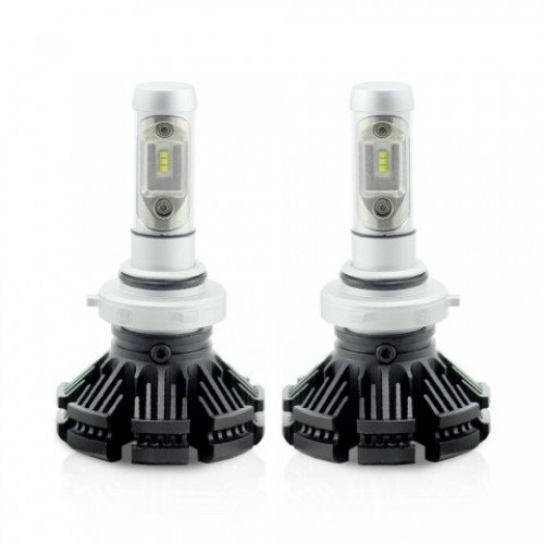 LED pt faruri 12-24V 9006-HB4 4000 Lumeni Super White
