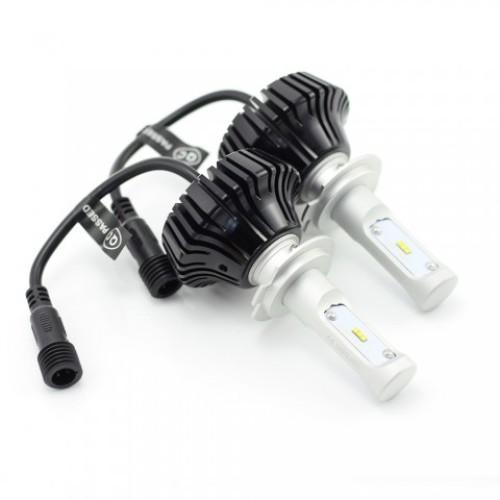 H7 LED CANBUS pt faruri 12-24V - 4000 Lumeni Super White