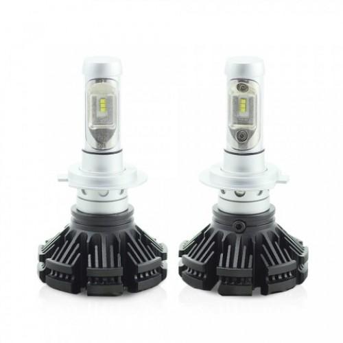 H7 LED pt faruri 12-24V - 4000 Lumeni Super White